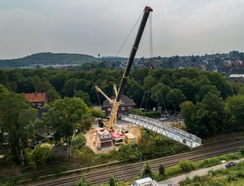 Erneuerung Rad- und Fußgängerbrücke zum Wurmtal über die DB an der Alten Aachener Straße